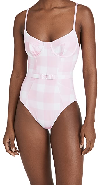 Solid & Striped The Spencer One Piece Swimsuit