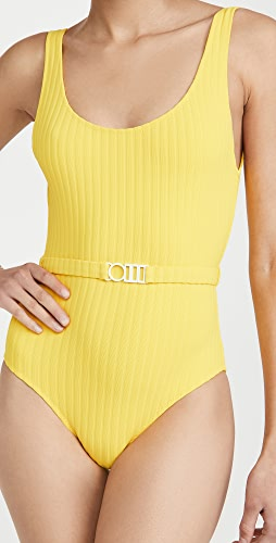 Solid & Striped - The Annemarie Belt One Piece Swimsuit