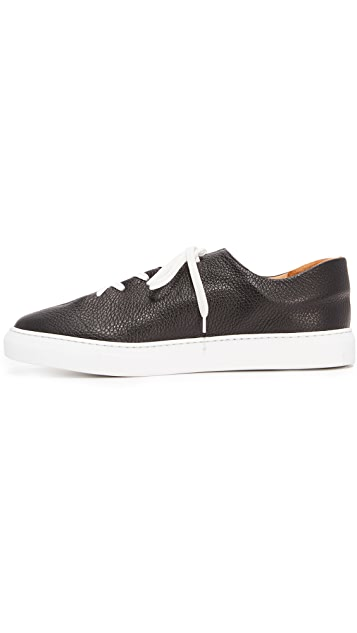 Soloviere Herve En Ville Leather Oxford Sneakers
