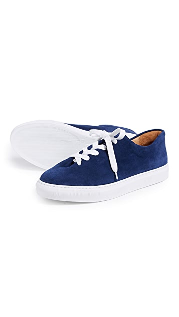 Soloviere Herve en Ville Suede Oxford Sneakers