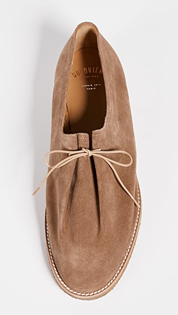 Soloviere Matthieu Suede Lace Up Shoes