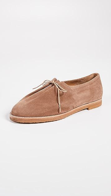 Soloviere Matthieu Suede Lace Up Shoes