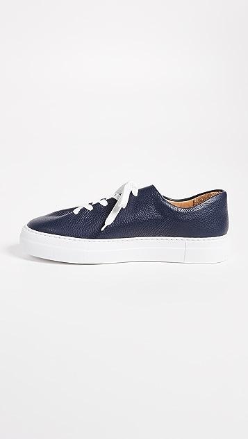 Soloviere Herve En Ville Leather Sneakers