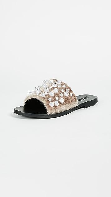 Sol Sana Teresa Fluffy Slides