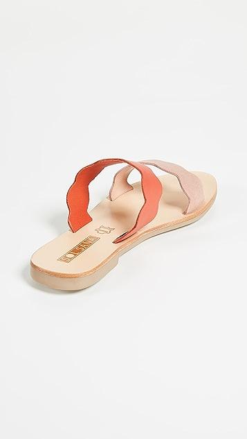 Sol Sana Wave Slide Sandals