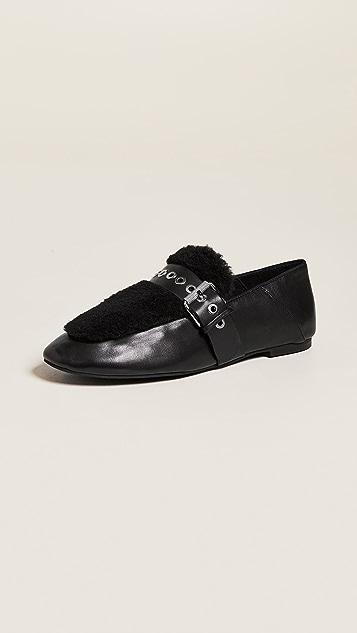 Sol Sana Shela Faux Shearling Loafers