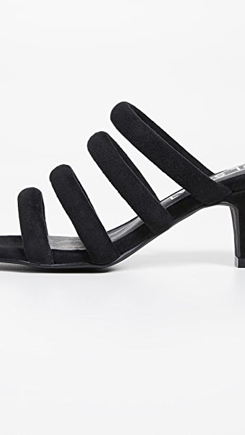 Sol Sana Туфли без задников Holt Tubular на квадратном каблуке