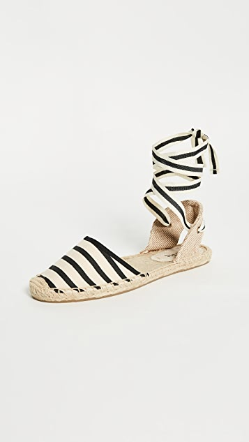 Soludos Striped Espadrille Sandals ...