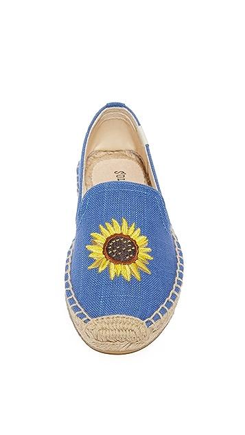Soludos Sunflower Smoking Slipper Espadrilles