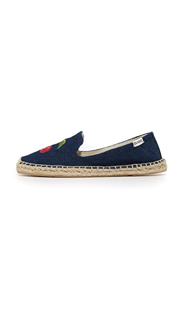 Soludos Cherry Smoking Slipper Espadrilles