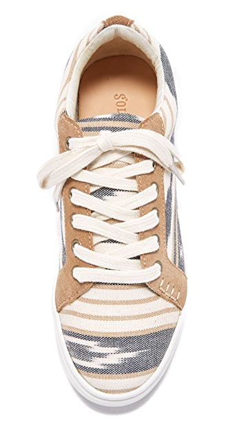 Soludos Ikat Lace Up Sneakers