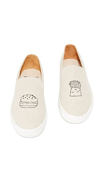 Soludos Hamburger Slip On Sneakers