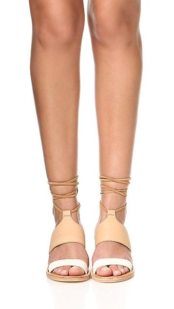 Soludos Colorblock City Sandals