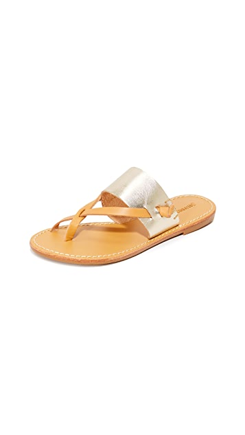 Soludos Slotted Thong Sandals
