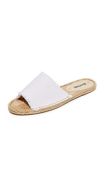 12f167b5ea00 Soludos Espadrille Slide Sandals ...