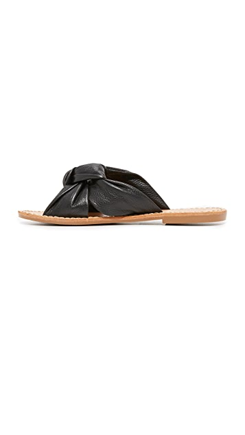 Soludos Knotted Slide Sandals