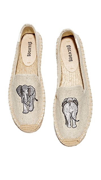 Elephant Smoking Slipper Soludos Tn25oPDK