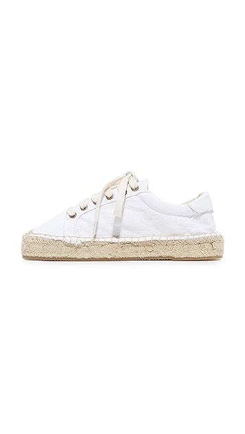 Soludos Rose Platform Tennis Sneakers