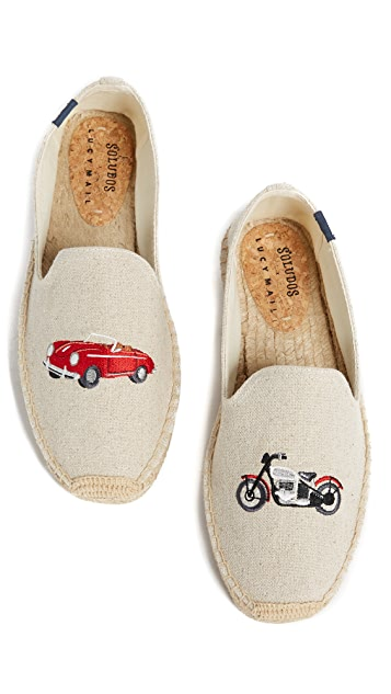 Soludos x Lucy Mail Car & Motorcycle Espadrilles