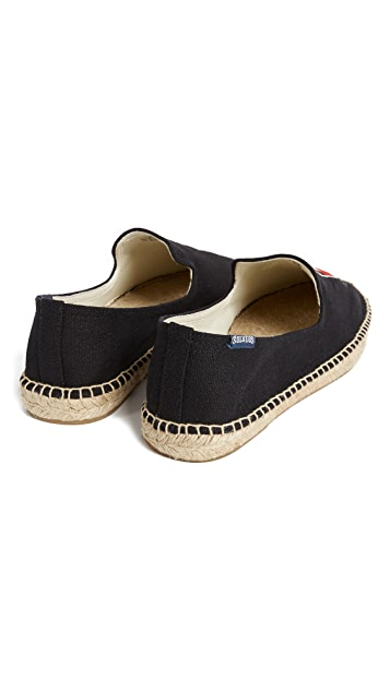 Soludos x Lucy Mail Negroni & Shaker Espadrilles