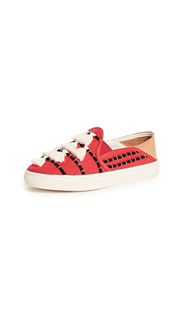 Soludos Convertible Tassel Slip On Sneakers