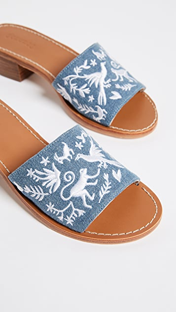 Soludos Otomi City Sandals