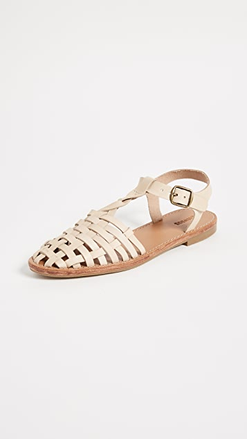Soludos Woven Fisherman Sandals