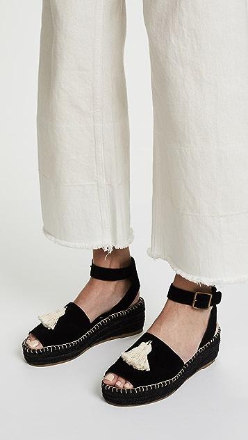 b0b659f6270 Peep-Toe Platform Sandals