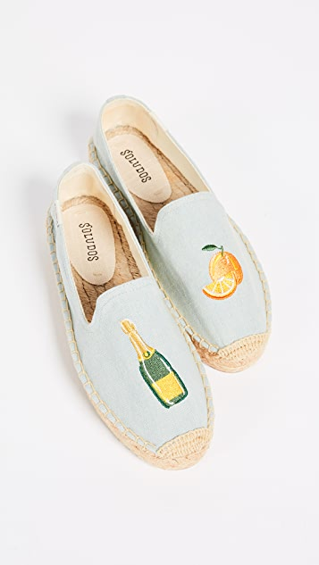 Soludos Mimosa Platform Smoking Slippers