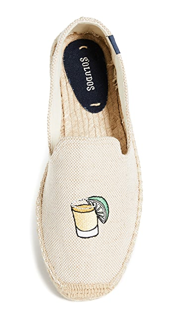 Soludos Beer & Shot Smoking Slippers