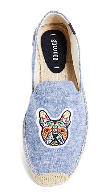 Soludos Frenchie Smoking Slippers