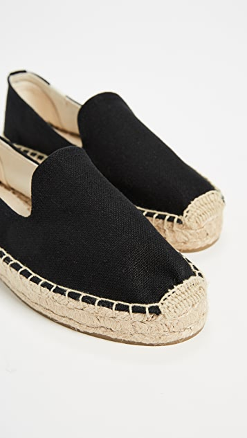Soludos Platform Smoking Slippers