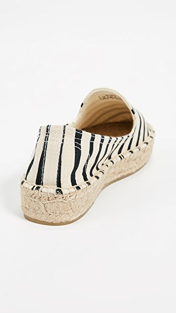 Soludos Classic Stripe Smoking Slippers