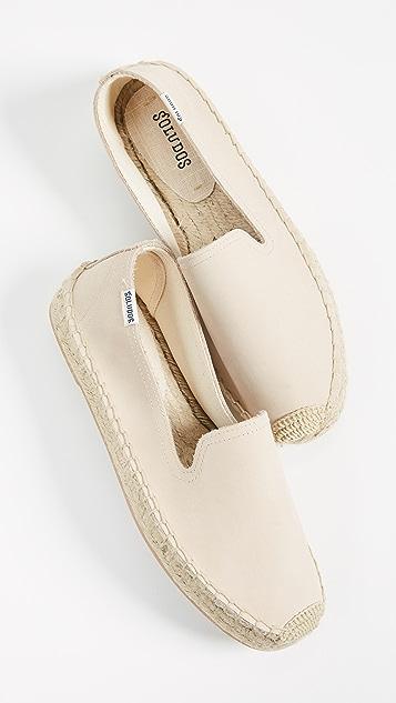 Soludos Platform Smoking Slippers