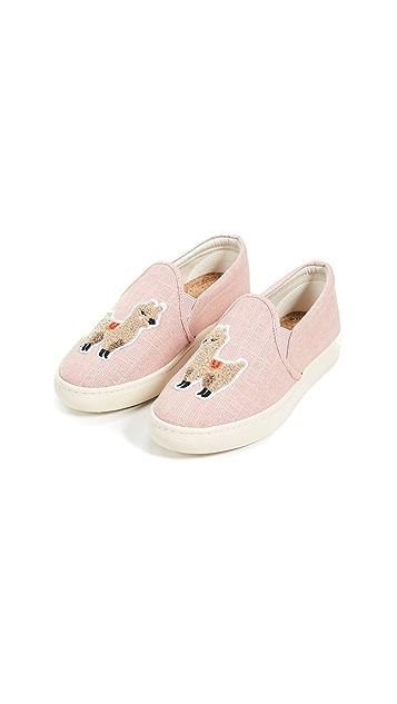 Soludos Llama Slip On Sneakers