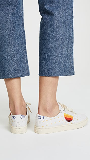 Soludos x Lockhart Embroidery Sun Sneakers