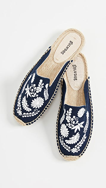 Soludos Ibiza Embroidered Mules