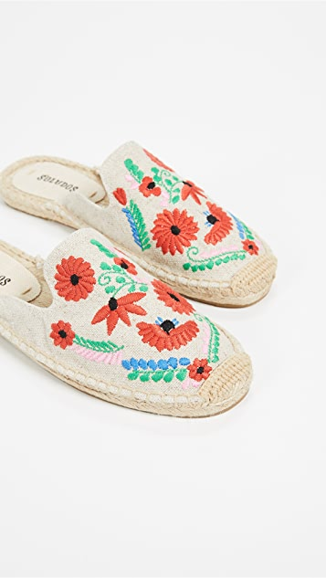Soludos Ibiza Embrodiered Mules