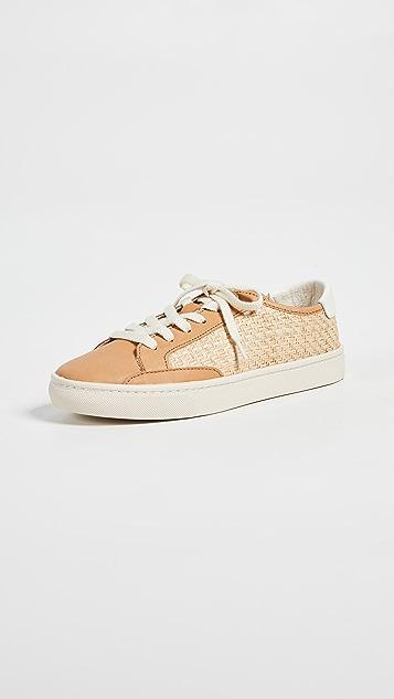 Soludos Ibiza Raffia Sneakers