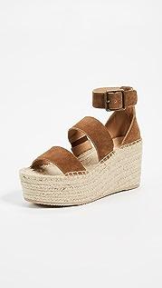 Soludos Palma 厚底凉鞋