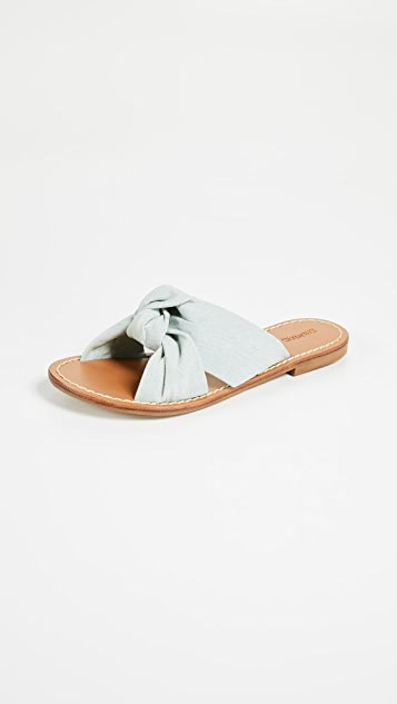 2bfb6c5760970 Soludos Knotted Slide Sandals