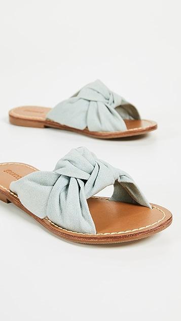 Soludos Knotted Slide Sandals