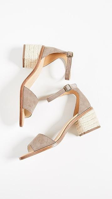 Soludos Capri Suede Sandals