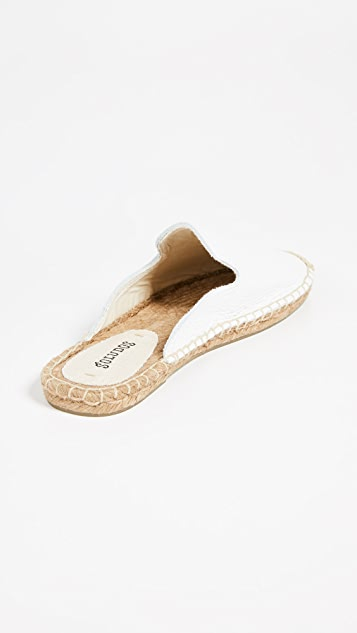 Soludos Tumbled Leather Mules