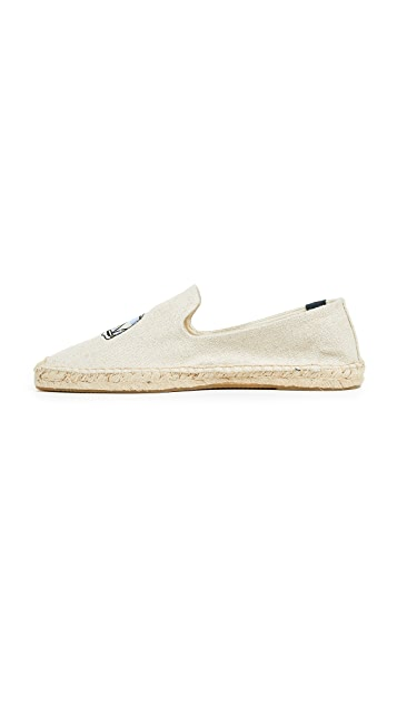 Soludos Surf Van Smoking Slippers