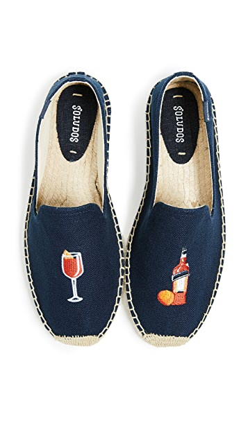 Soludos The Spritz Smoking Slippers