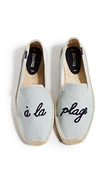 Soludos A La Plage Smoking Slippers