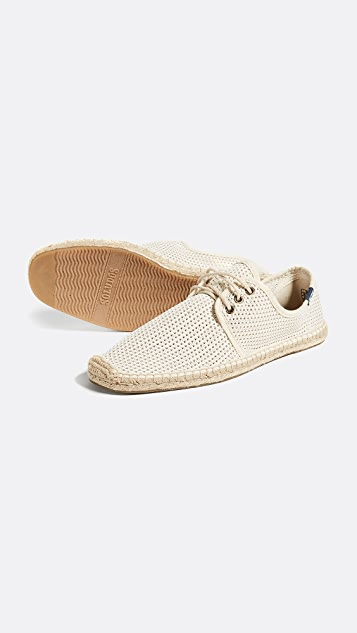 Soludos Mesh Lace Up Derbies