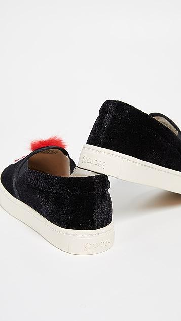 Soludos Velvet Show Pony Sneakers