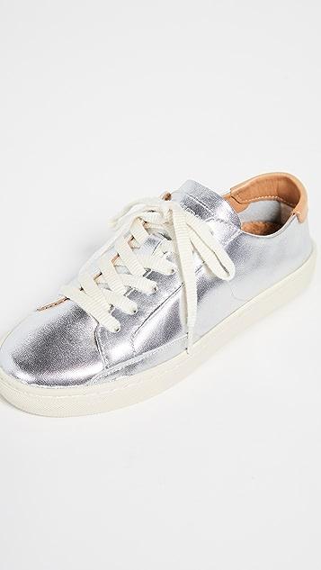 Soludos Ibiza Leather Sneakers